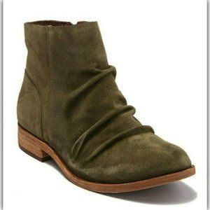 NEW KORK EASE Suede Leather Ankle Boots